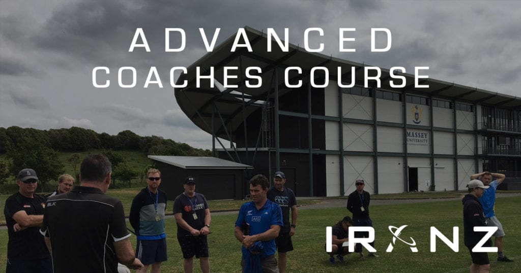 IRANZ Advanced Rugby Coaches Course