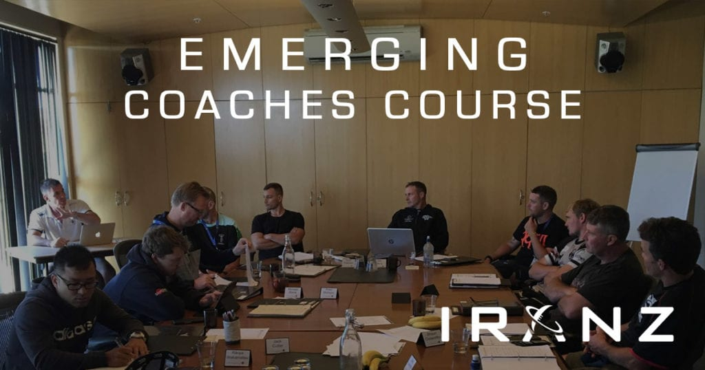IRANZ Emerging Rugby Coaches Course