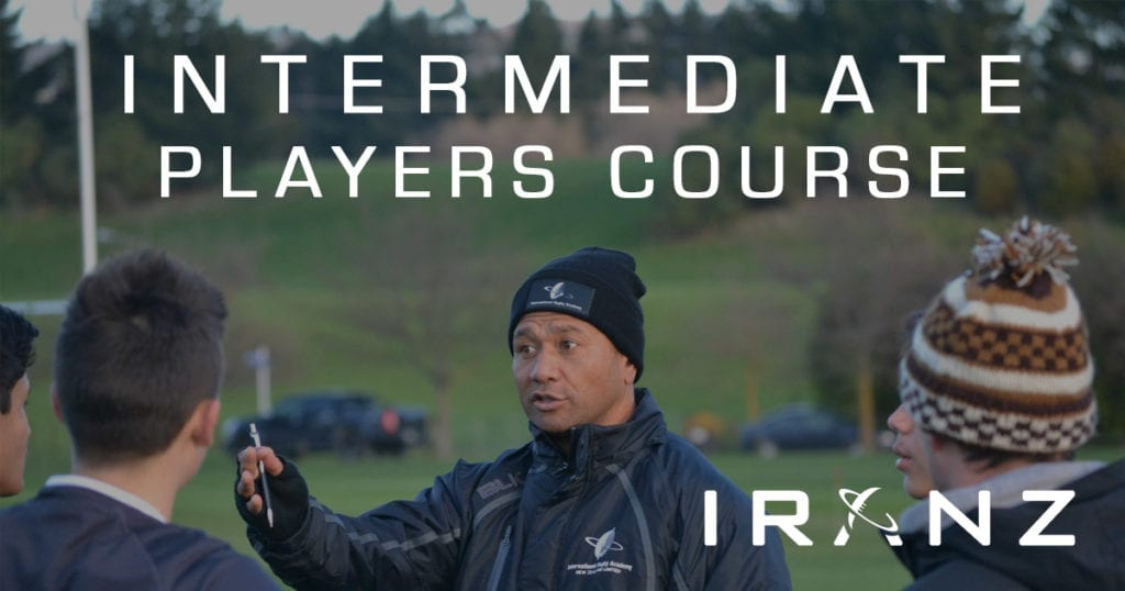 IRANZ Intermediate Rugby Players Course