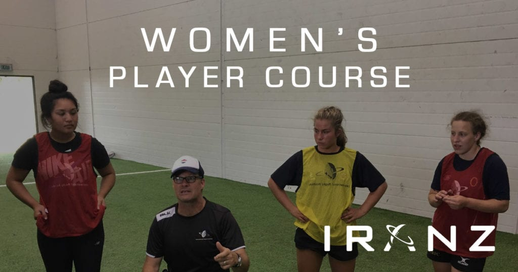 IRANZ Women's Rugby Player Course