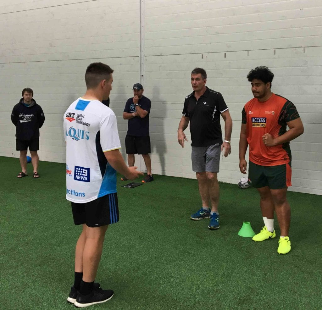 Emerging Players Course contact module