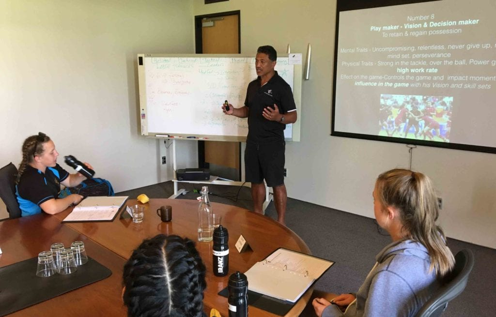 Women's Player Course Position-Specific analysis
