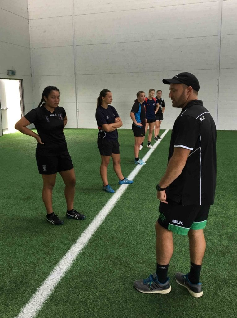 IRANZ Womens Player Course fitness testing