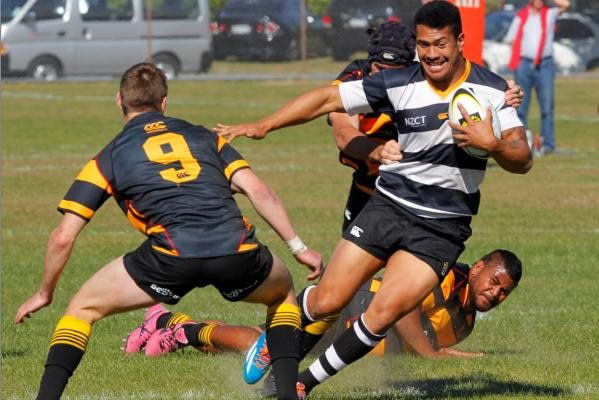 All Black and IRANZ Graduate Ardie Savea pictured playing for his local club